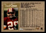 1996 Topps #392  Darrell Green  Back Thumbnail