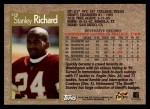 1996 Topps #328  Stanley Richard  Back Thumbnail