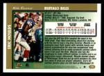 1997 Topps #139  Eric Moulds  Back Thumbnail