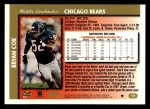 1997 Topps #168  Bryan Cox  Back Thumbnail