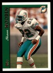 1997 Topps #313  Shawn Wooden  Front Thumbnail