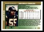 1997 Topps #320  Junior Seau  Back Thumbnail