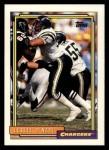 1992 Topps #728  Leslie O'Neal  Front Thumbnail
