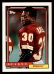 1992 Topps #710  Martin Bayless  Front Thumbnail