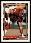 1992 Topps #691  Kevin Fagan  Front Thumbnail