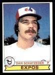 1979 Topps #124  Dan Schatzeder  Front Thumbnail