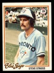 1978 Topps #521  Steve Staggs  Front Thumbnail