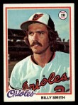 1978 Topps #666  Billy Smith  Front Thumbnail