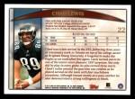 1998 Topps #22  Chad Lewis  Back Thumbnail