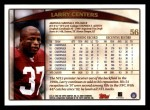 1998 Topps #56  Larry Centers  Back Thumbnail