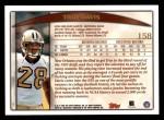 1998 Topps #158  Troy Davis  Back Thumbnail