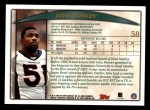 1998 Topps #58  John Mobley  Back Thumbnail