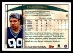 1998 Topps #6  Chad Brown  Back Thumbnail