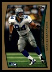 1998 Topps #6  Chad Brown  Front Thumbnail