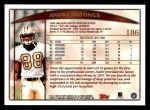 1998 Topps #186  Andre Hastings  Back Thumbnail