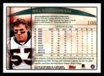 1998 Topps #108  Bill Romanowski  Back Thumbnail