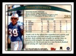 1998 Topps #283  Frank Wycheck  Back Thumbnail