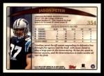 1998 Topps #354  Jason Peter  Back Thumbnail