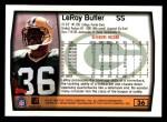 1999 Topps #36  LeRoy Butler  Back Thumbnail
