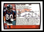 1999 Topps #118  Rod Smith  Back Thumbnail