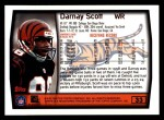 1999 Topps #33  Darnay Scott  Back Thumbnail