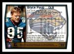 1999 Topps #99  Bryce Paup  Back Thumbnail