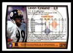1999 Topps #279  Levon Kirkland  Back Thumbnail