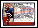 1999 Topps #270  Eric Moulds  Back Thumbnail