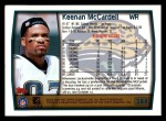 1999 Topps #288  Keenan McCardell  Back Thumbnail