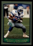1999 Topps #237  Ricky Watters  Front Thumbnail