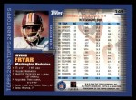 2000 Topps #148  Irving Fryar  Back Thumbnail