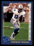 2000 Topps #184  Herman Moore  Front Thumbnail