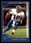 2000 Topps #236  Charlie Batch  Front Thumbnail