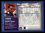 2000 Topps #247  Jermaine Lewis  Back Thumbnail