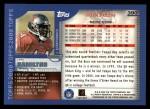 2000 Topps #390  Joe Hamilton  Back Thumbnail