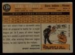1960 Topps #139   -  Carl Mathias Rookie Star Back Thumbnail