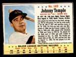 1963 Post #189  Johnny Temple  Front Thumbnail