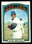 1972 Topps #393  Curt Motton  Front Thumbnail