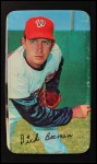 1970 Topps Super #22  Dick Bosman  Front Thumbnail