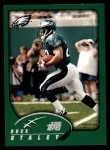 2002 Topps #4  Duce Staley  Front Thumbnail