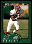 2002 Topps #133  Eric Moulds  Front Thumbnail