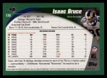 2002 Topps #170  Isaac Bruce  Back Thumbnail