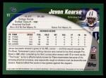 2002 Topps #11  Jevon Kearse  Back Thumbnail