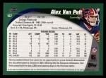 2002 Topps #167  Alex Van Pelt  Back Thumbnail