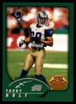 2002 Topps #306   -  Torry Holt Weekly Wrap-Up Front Thumbnail