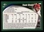 2002 Topps #237  Trent Green  Back Thumbnail