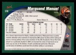 2002 Topps #378  Marquand Manuel  Back Thumbnail