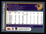 2003 Topps #47  Jeff Blake  Back Thumbnail