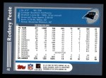 2003 Topps #46  Rodney Peete  Back Thumbnail