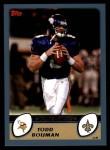 2003 Topps #33  Todd Bouman  Front Thumbnail
